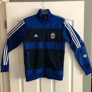 Adidas Soccer Argentina Men's Track Jacket - Small